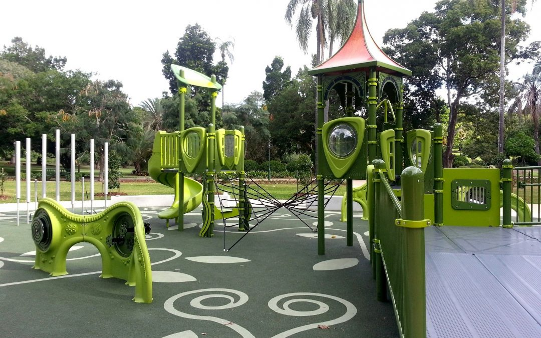 Inclusive-Playground-for-all-abilities-Brisbane-Botanical-Gardens-Playground